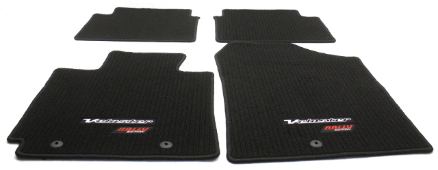 OEM Hyundai Veloster Rally Edition 4-Piece Floor Mat Set 2VF14-AC800