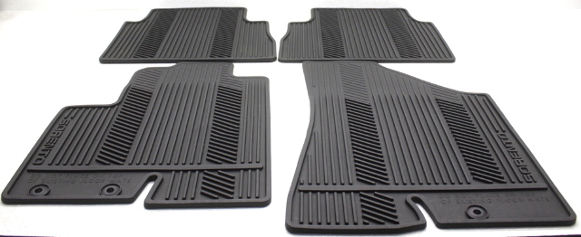 OEM Kia Sorento 4-Piece All Weather Rubber Floor Mat Set 1UF13-AC000