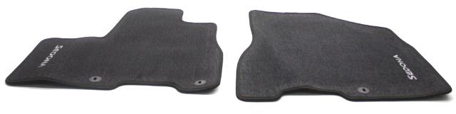OEM Kia Sedona 3-Piece Black Floor Mat Set A9F14-AC200WK