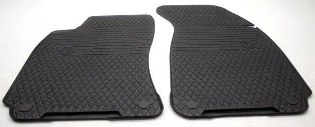 OEM Volkswagen Passat Front Floor Mats 3B1-061-501-041 Black