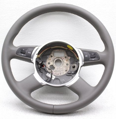 OEM Audi S8 Steering Wheel 4E0419091CC1LT Gray