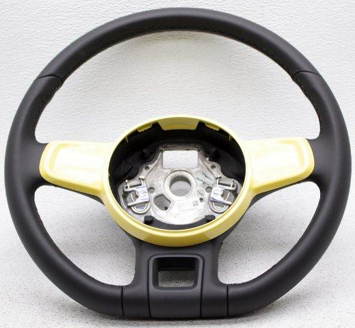 OEM Volkswagen Beetle Steering Wheel 5C0419091ADB1B Yellow