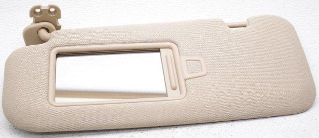 Genuine OEM Hyundai Sonata Sun Visor Left Side 06-08 Beige Cloth 85201-3K010QD