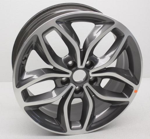 "OEM Kia Forte 18"" Alloy Wheel Rim w/Gray Inlay 52910-A7850"