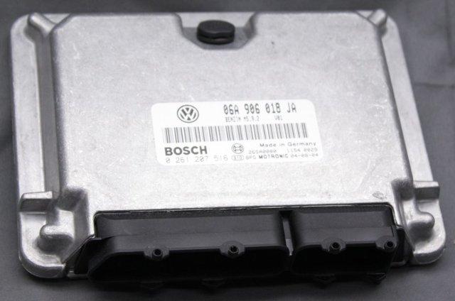 OEM Volkswagen Golf, GTI, Jetta Engine Control Module 06A906018JA