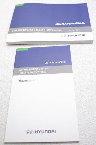 OEM Hyundai Santa Fe Map Pack SD Card Book 96554-B8106