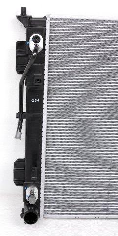 Zirgo ZFRDA501 OEM Replacement Radiator