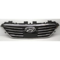 OEM Sonata Limited Upper Center Grille 86350-C1200 Minor Chrome Oxidation