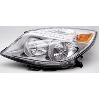 OEM Saturn Aura Left Driver Side Halogen Headlamp Lens Spots 25854634