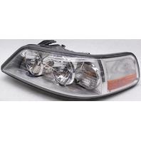 OEM Lincoln Town Car Left Driver Side Halogen Headlamp Chrome Spots