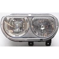OEM Dodge Challenger Left Driver Side Halogen Headlamp Chrome Spots