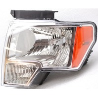 OEM Ford F150 Left Driver Side Halogen Headlamp Lens Cracks DL3Z-13008-B