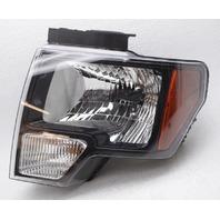 OEM Ford F150 Left Driver Side Halogen Headlamp DL3Z-13008-EC - Partial Tab Gone