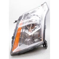 OEM Cadillac SRX Left Driver Side Headlamp 23481296 - Tab Gone Lens Scratches
