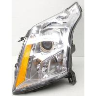 OEM Cadillac SRX Left Driver Side Halogen Headlamp Lens Crack
