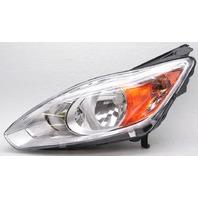 OEM Ford C-Max Left Driver Side Halogen Headlamp DM5Z-13008-D - Tab Chip