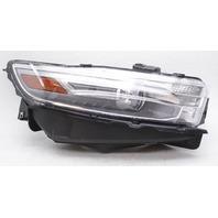 OEM Ford Taurus Right Halogen Headlamp w/Lt Gray Bezel - Tab Gone & Dusty Inside