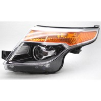 OEM Ford Explorer Left Driver Side HID Headlamp BB5Z13008V Tab Gone Housing Chip