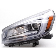 OEM GMC Acadia Left Driver Side Halogen Headlamp Lens Crack 23358994