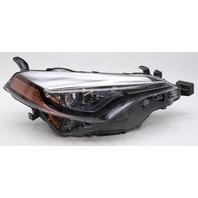 OEM Toyota Corolla Right Passenger Side Halogen Headlamp 81110-02M70 - Tab Gone