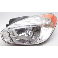 OEM Hyundai Accent Left Driver Side Halogen Headlamp Chrome Flaws