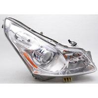 OEM Infiniti G35 Sedan, G37 Sedan Right Passenger Side HID Headlamp Lens Chip