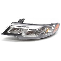 OEM Kia Forte Sedan Hatchback Left Headlamp 92101-1M030 Tab Gone Lens Scratches