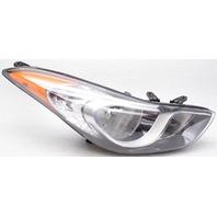OEM Hyundai Elantra Right Passenger Side Halogen Headlamp Lens Haze