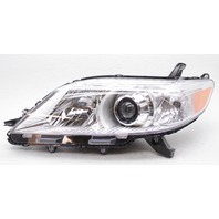 OEM Toyota Sienna Left Driver Side Headlamp 81150-08030 - Tab Gone & Lens Chip