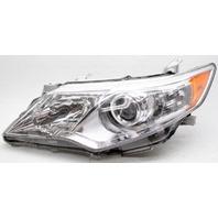 OEM Toyota Camry Left Driver Side Headlamp Lens Chip