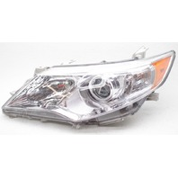 TYC Aftermarket Left Driver Side Halogen Headlamp For A Toyota Camry - Lens Chip