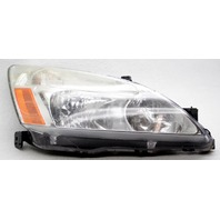 OEM Honda Accord Right Passenger Side Halogen Headlamp Lens Scratches
