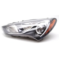 OEM Hyundai Genesis Coupe Left HID Headlamp - Tab Gone Lens Scratches