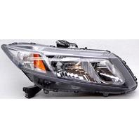 OEM Honda Civic Sedan Right Passenger Side Halogen Headlamp Tab Chip