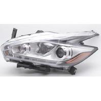 OEM Nissan Murano Left Halogen Headlamp 26060-5AA0D Lens Chip Tab gone