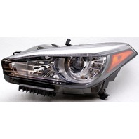 OEM Infiniti Q70 Left Driver Side LED Headlamp Tab Missing