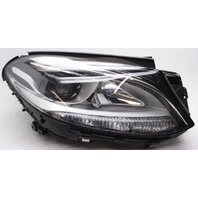 Non-US Market Mercedes-Benz GLE-Class Right Side Halogen Headlamp Tabs Missing