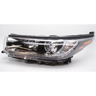 OEM Toyota Highlander SE Left Driver Side Headlamp - Tab Gone & Lens Scratches