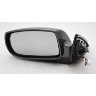 OEM Hyundai Genesis Coupe Left 3-Wire Side View Mirror Dark Gray 876102M100