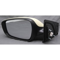 OEM Hyundai Elantra Left Side View Mirror 3-Pin Plug Unpainted 87610-3X140