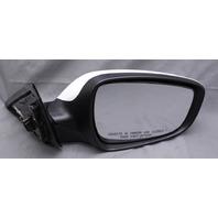 OEM Hyundai Veloster Right Passenger Side 5-Pin Side View Mirror 87620-2V500