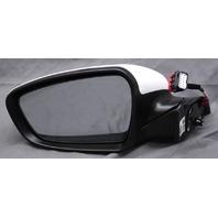 OEM Kia Forte Sedan & Hatchback Left Side View Mirror White 87610-B0000