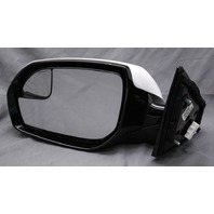 OEM Hyundai Santa Fe Left 5-Pin Side View Mirror White 87610-B8630