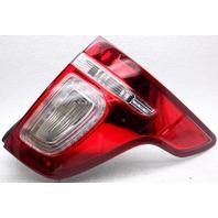 OEM Ford Explorer Right Passenger Side LED Tail Lamp Chrome Flaw BB5Z13404C