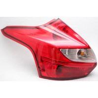 OEM Ford Focus Hatchback Left Driver Side Halogen Tail Lamp Lens Chipped