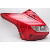 OEM Ford Focus Hatchback Left Driver Side Halogen Tail Lamp Lens Chips