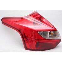 OEM Ford Focus Hatchback Left Driver Side Halogen Tail Lamp Chipped Lens