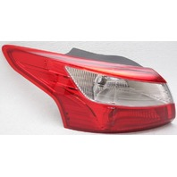 OEM Ford Focus Sedan Left Driver Side Tail Lamp Lens Crack