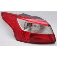 OEM Ford Focus Sedan Outer Left Driver Side Tail Lamp - Lens Chipped