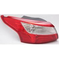 OEM Ford Focus Sedan Left Driver Side Tail Lamp Lens Chipped